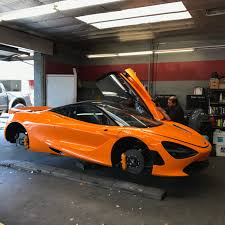 orange mclaren rdbla u2013 worlds first modded mclaren 720s rdb la five star