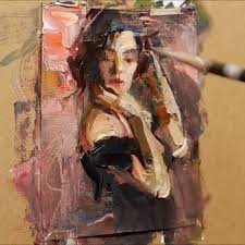2049 best palette knife paintings images on pinterest