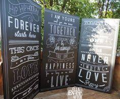 wedding backdrop sign easy peasy to make room divider for lounge party