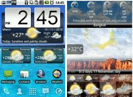 clock and weather widgets for android great list of android clock widgets to help you tell the time