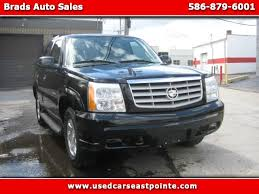 2006 cadillac escalade for sale used 2006 cadillac escalade for sale in eastpointe mi 48021 brads