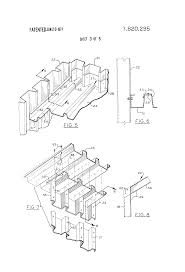 patent us3820295 building structure formed of flat corrugated