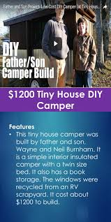 1200 tiny house diy camper tiny quality homes