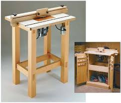 Table Saw Cabinet Plans 39 Free Diy Router Table Plans U0026 Ideas That You Can Easily Build