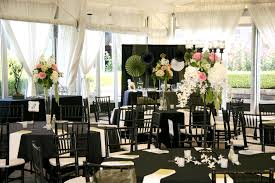 black and white centerpieces reception flowers 120 to 165 rf1093 pink green white and
