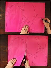 wedding backdrop tutorial colorful diy paper flower backdrop for your wedding decor advisor