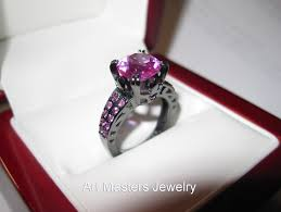 pink and black engagement rings engagement rings page 2 masters jewelry engagement and
