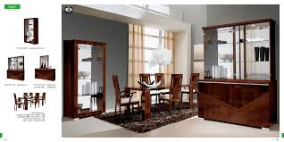 Modern Dining Room Furniture Sets Italian Dining Room Sets Modern Table Brown Glass Large Cabinet