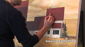 acrylic landscape painting tips and tricks painting shingles on
