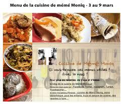 dans la cuisine menus du 3 au 9 mars dans la cuisine de mémé moniq cuisine de mémé