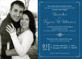 wedding announcements 136 best lds wedding invitations images on wedding