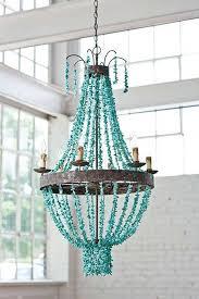 turquoise chandelier diy turquoise chandelier thesecretconsul