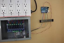 use arduino and relays to ac lights and appliances make