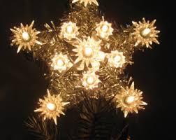 lighted tree topper etsy
