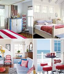Red White And Blue Home Decor Red White And Blue With An Ocean View Pinterest Red White