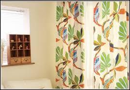 Green Kitchen Curtains Blue Orange And Green Curtains Curtains Home Design Ideas