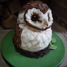 owl cake barn owl cake the great bake
