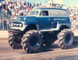 original grave digger monster truck the original grave digger 1951 ford f1 panel monster truck bad