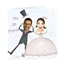 annonce de mariage mariage photo a pois