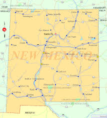 Nm Map Sasha Solomon Lives U0026 Works In New Mexico