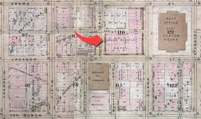 Chicago Hotels Map by Grand Pacific Hotel Ii