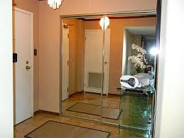 Mirrored Sliding Doors Closet Closet Mirror Sliding Doors With Glass Or The Door Store Mirrored