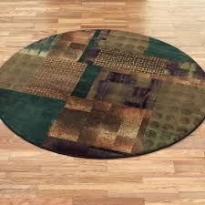Green Round Rug by Contemporary Round Rugs Touch Of Class