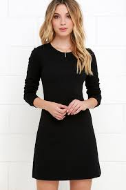 classic black dress lbd sleeve dress a line dress 48 00