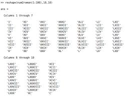 roamn numeral roman2num and num2roman modern numerals file exchange