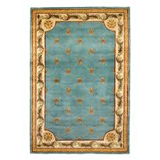 Antique Area Rug Kas Rugs Antique Fleur De Lis Wedgewood Blue 3 Ft 6 In X 5 Ft 6