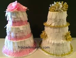 wedding cake pinata frosted insanity pinata wedding cake wafer paper