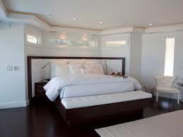 bedroom master bedroom features wooden platform bed with large
