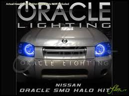 nissan frontier body parts 01 04 nissan frontier led dual color halo rings headlights bulbs