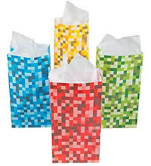 minecraft wrapping paper minecraft cobblestone wrapping paper co uk office products