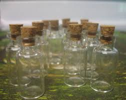 Wholesale Decorative Bottles Buy Small Glass Bottles With Corks By Bittybottle On Etsy