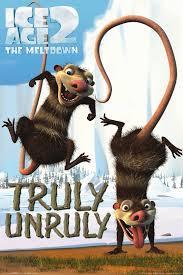 ice age 2 movie poster meltdown unruly 24x36 cartoon crash