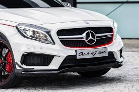 amg stand for mercedes mercedes gla45 amg concept takes a stand at 2013 l a