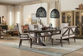 hooker furniture dining room roslyn county upholstered dining