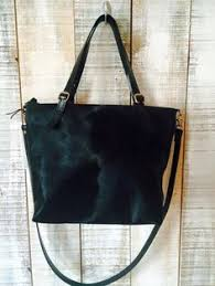Hair On Cowhide Purse Cowhide Purse Hand Dyed Cow Hide Pouches In Grey And Lemon