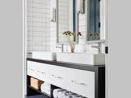 bathroom bar pulls blue mosaic tile floor blue tile cottage