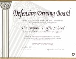 arizona defensive driving az traffic by improv