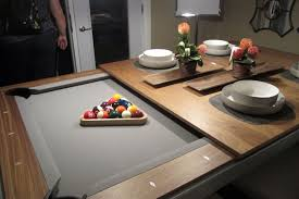 Pool Table Dining Table Combination To Accent Dining Room - Combination pool table dining room table