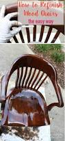 How To Make A Chair Hammock How To Refinish Wood Chairs The Easy Way Designer Trapped In A