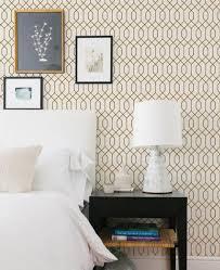 peel and stick wallpaper geometric hexagon wallpaper gold peel and stick