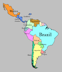 map of central and south america with country names like me viewer s guide