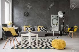 Wohnzimmer Gelb Blau Design Wohnzimmer Schwarz Weiß Blau Inspirierende Bilder Von