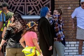 Makeup Schools In Orange County Film Crew Shoots In Old Towne Orange Likely For U201camerican Horror