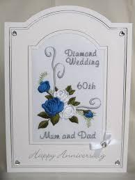 wedding anniversary card roses scroll design