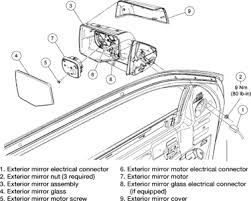 ford explorer mirror replacement 2008 ford explorer sport trac replacing driver side mirror fixya