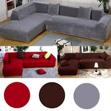 l shaped sofa slipcovers l shape stretch elastic fabric sofa cover sectional corner couch